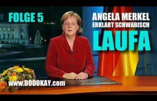 Angela Merkel – Laufen – Neujahrsansprache Nr. 5 schwäbisch